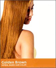 Golden Brown Hair Color